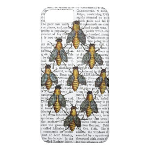 Mediaeval Bees 2 Case-Mate iPhone Case