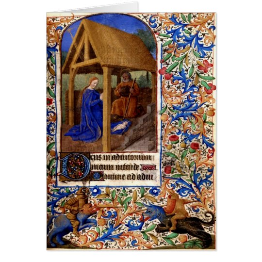 Mediaeval Christmas Card 1