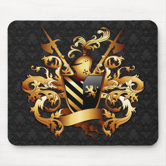 Mediaeval Coat of Arms Mouse Pad