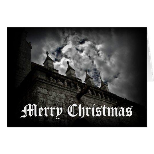 Mediaeval fantasy Merry Christmas Card
