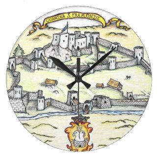 Mediaeval Guardia Large Clock