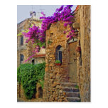Mediaeval House in Charming Italy Post Card