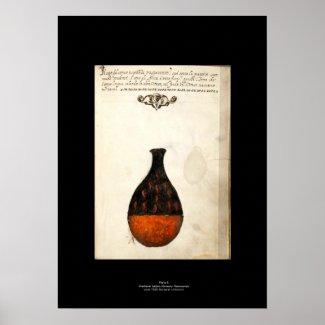Mediaeval Italian Alchemy Poster Plate 5