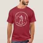 Mediaeval Knight Round Stamp T-Shirt
