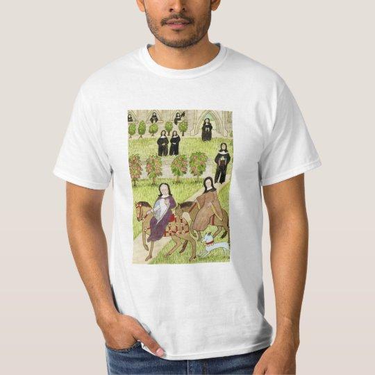 Mediaeval Life in England - Canterbury pilgrims 1 T-Shirt