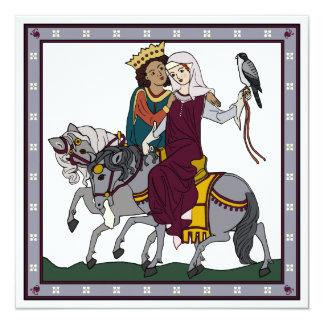 Mediaeval Love Poem Card