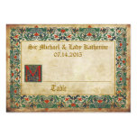 Mediaeval Manuscript Goth Wedding Place Cards Pack Of Chubby Business Cards