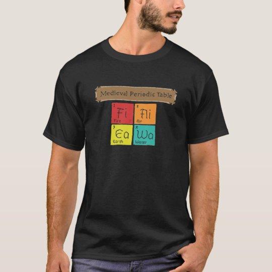 Mediaeval Periodic Table T-Shirt