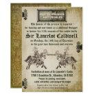 Mediaeval Renaissance Birthday Wedding Invitation