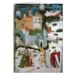 Mediaeval Solstice Card