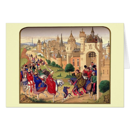 Mediaeval Themed Greeting Card