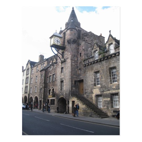 Mediaeval Tollbooth Tavern in Edinburgh, Scotland Postcard