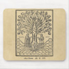 Mediaeval Tree of the Sciences Mouse Mat