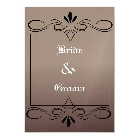 Mediaeval Wedding Invitation