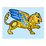 Mediaeval Winged Lion Gryphon
