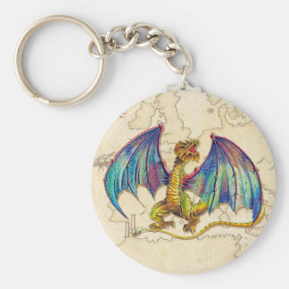 Mediaeval Wyvern Key Ring