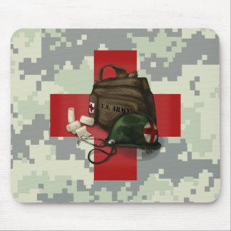 Medic Cross Camo Mouse Mat