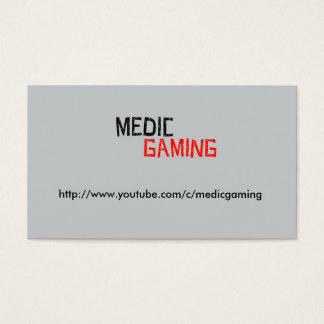 Medic Gaming Logo Business Card