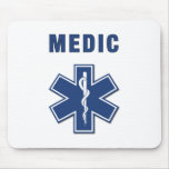 Medic Star of Life Mouse Mat