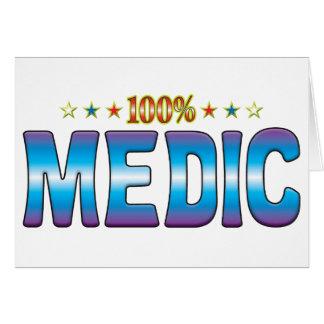 Medic Star Tag v2 Cards