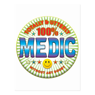 Medic Totally Postcard