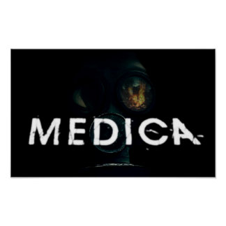 Medica GasMask Posters