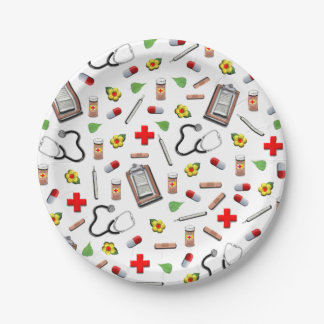Medical 7 Inch Paper Plate