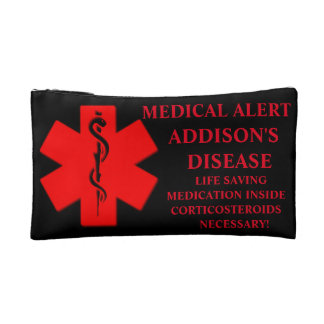 Medical alert bag 2 cosmetic bag