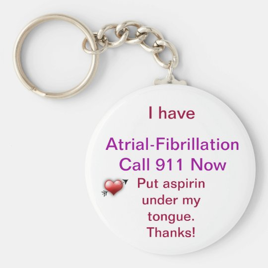 Medical Alert Keychain