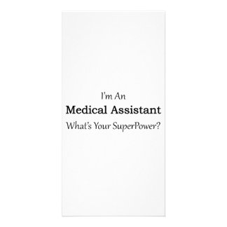 Medical Assistant Custom Photo Card