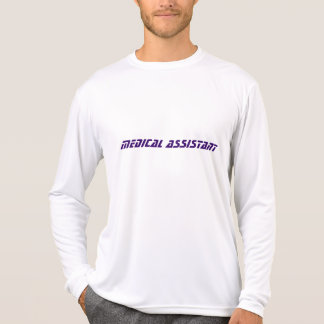 medical assistant jersey t-shirt