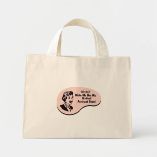 Medical Assistant Voice Mini Tote Bag