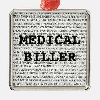 Medical Biller Medical Terminology Christmas Christmas Ornament