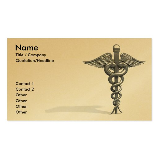 Medical Business Card Template I