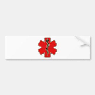 Medical Caduceus Bumper Sticker