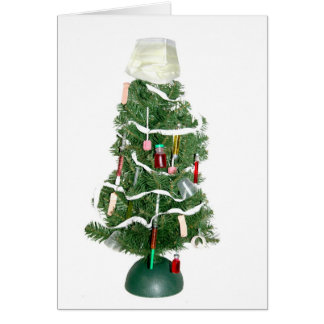 Medical Christmas tree Card