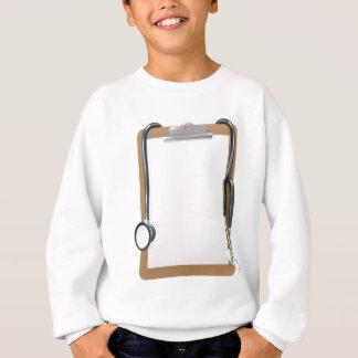 Medical Clipboard Background Sweatshirt