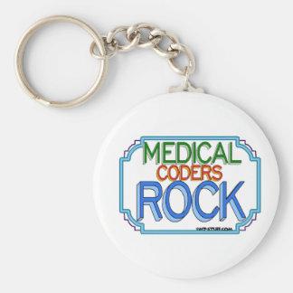 Medical Coders Rock Key Ring