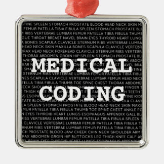 Medical Coding Medical Terminology Christmas Christmas Ornament
