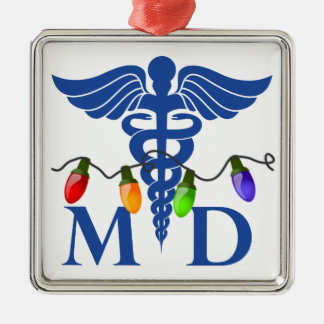 Medical Doctor Christmas Lights Ornament