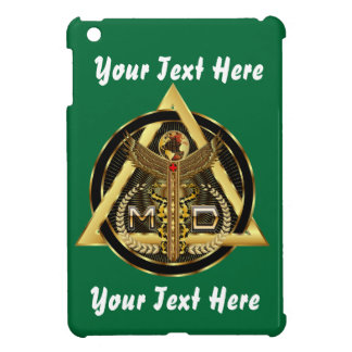Medical Doctor Logo Round Only VIEW ABOUT Design Case For The iPad Mini