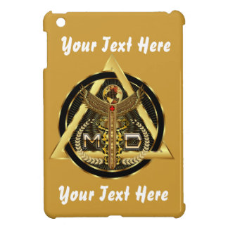 Medical Doctor Logo Round Only VIEW ABOUT Design Cover For The iPad Mini
