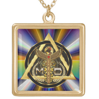 Medical Doctor Logo Square Only VIEW ABOUT Design Pendants