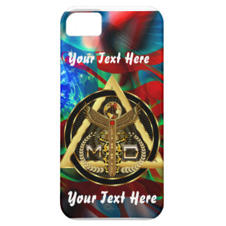 Medical Doctor Logo Universal VIEW ABOUT Design iPhone 5/5S Covers