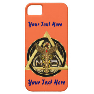Medical Doctor Logo Universal VIEW ABOUT Design iPhone 5/5S Cases
