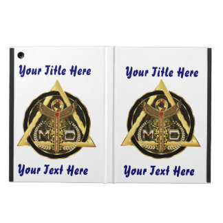 Medical Doctor Logo Universal VIEW ABOUT Design iPad Air Cover