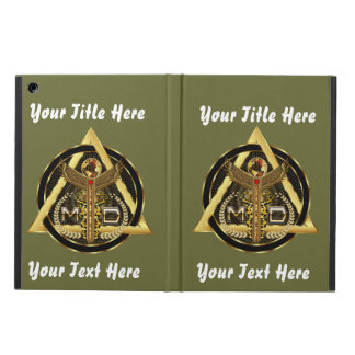 Medical Doctor Logo Universal VIEW ABOUT Design iPad Air Case