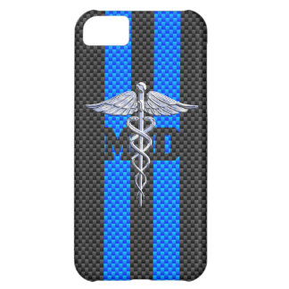 Medical Doctor MD Caduceus on Vibrant Stripes iPhone 5C Case