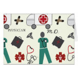 Medical Doctor Note Card