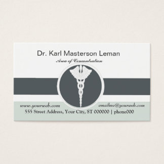 Medical Doctor Office  Appointment Business Card